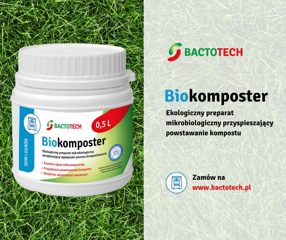 bakterie do kompostu, szybki kompost Biokomposter