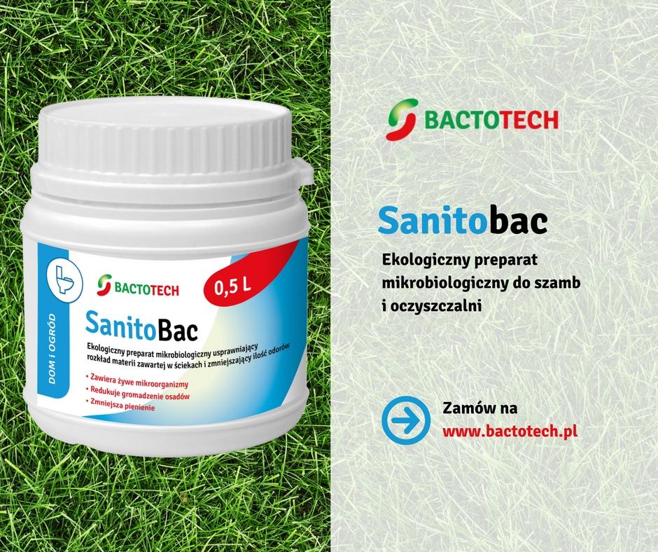 Preparaty do szamba, bakterie do szamba, bakterie do oczyszczalni Sanitobac