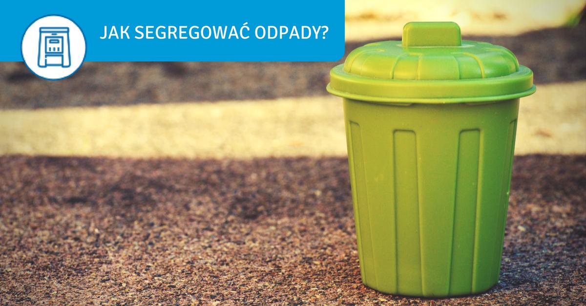 jak segregować odpady w domu i produkować mniej śmieci